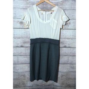 Rebecca Taylor Pencil Skirt Silk Dress